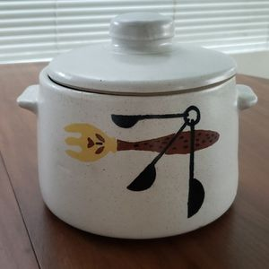 Vintage WestBend Bean Pot - 60's Mid Century